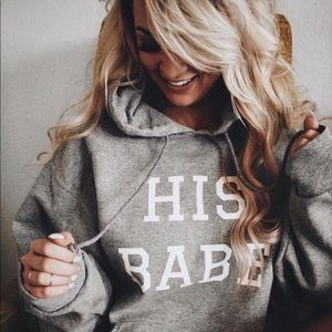 Tops - HIS BABE  hoodie
